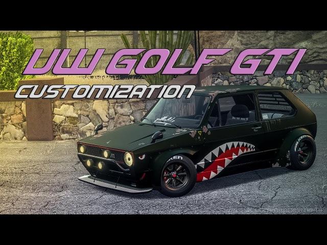VW Golf GTI Customization review tuning обзор гольф NFS Payback Xbox One S cars SHORT смотреть онлайн без регистрации