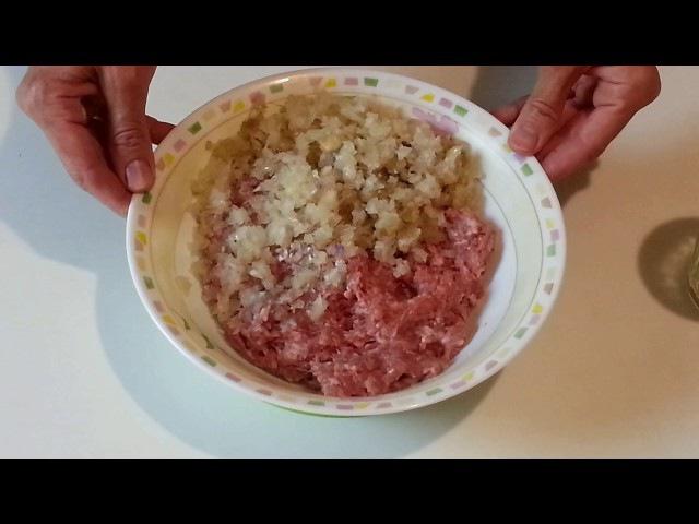 Беляши с мясом на дрожжевом тесте