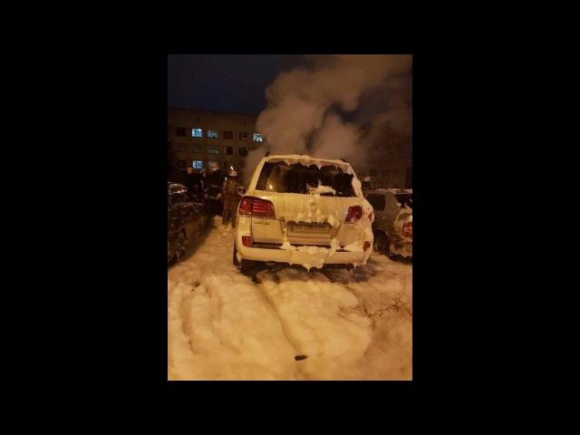 В Харькове неизвестные подожгли машину мужа судьи по делу о смертельном ДТП на Сумской
