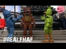 Real Freddy Friends from fnaf visit the UK!