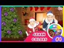 🎁🎄 Learn Colors with Christmas Balls 🎅🎅 2 Santa Claus Wish you Merry Christmas Happy New Year