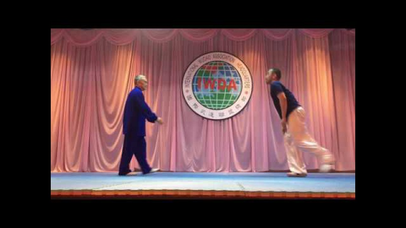 Taiji Pushhand by Grandmaster Shouyu Liang and Master Derek Cheng