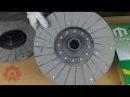 Диски сцепления трактора ЮМЗ-6 двух разных производителей