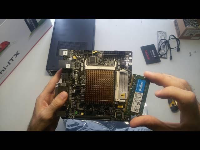 Сборка компьютера формата mini ITX
