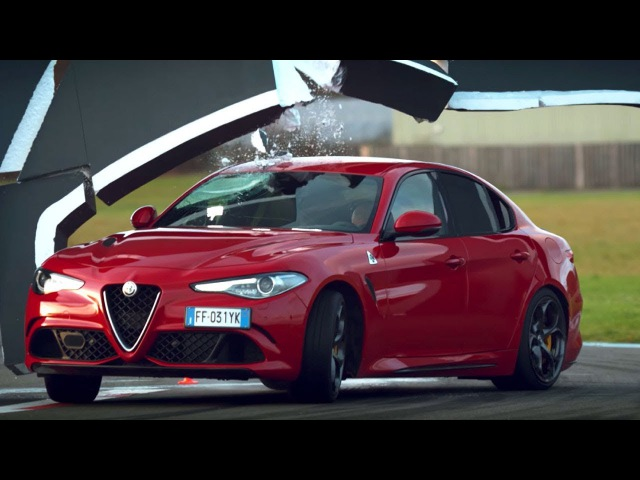 The Alfa Romeo Giulia Wall Challenge - Top Gear Series 24 - Top Gear - BBC