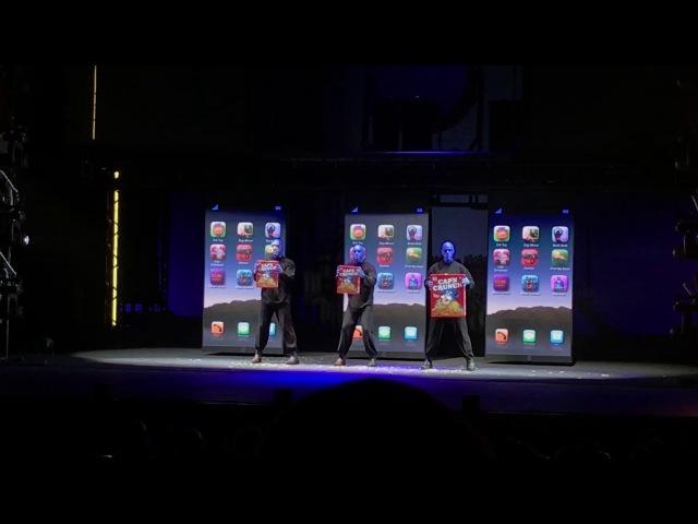 Blue Man Group - iPhone (Milano 2017)