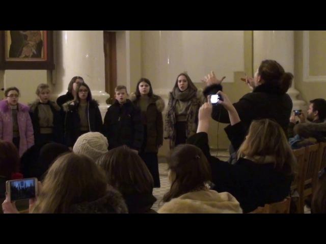 Концертный хор ПЕРЕЗВОНЫ - Рождественский концерт в Базилике Св. Екатерины