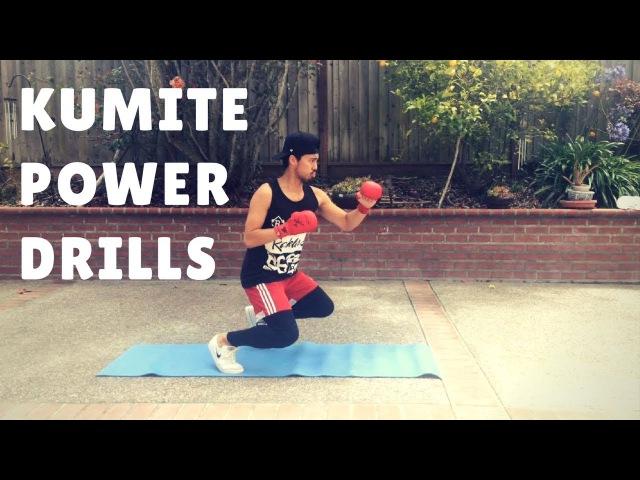 KARATE TIPS 4 EXPLOSIVE Power Drills for Kumite