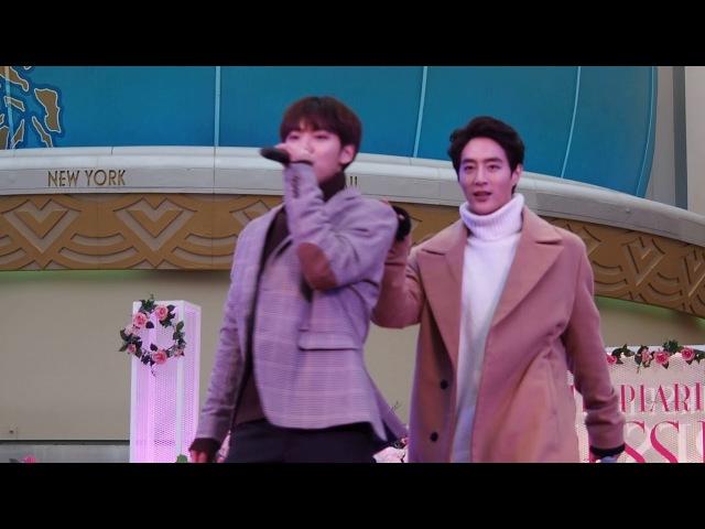[FANCAM] 180216 100%(백퍼센트) - Song for you @ Chiba - Ikspiari