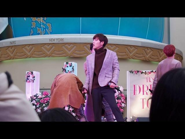 [FANCAM] 180216 100%(백퍼센트) - How To Cry @ Chiba - Ikspiari