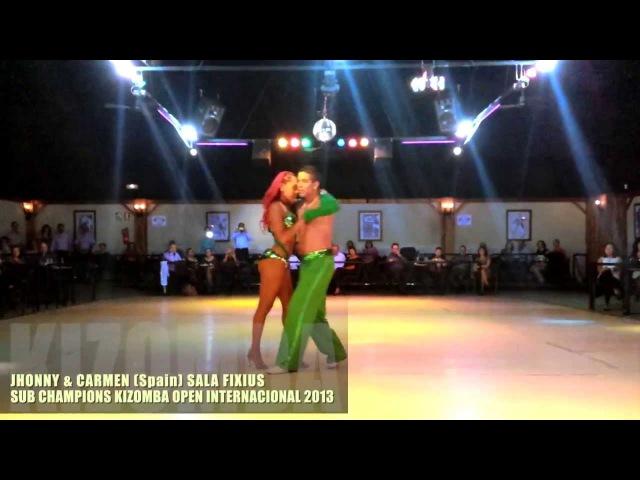Sub Champions Kizomba Open International 2013 Jhonny Carmen Venezuela