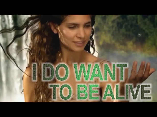 I DO WANT TO BE ALIVE. Video based on AllatRa book