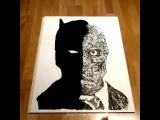 Gotham Knight Harvey Dent · #coub, #коуб