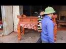 Bàn thờ đẹp gỗ mít mẫu mai hóa long hoàn thiện vecli Đồ gỗ Minh Long