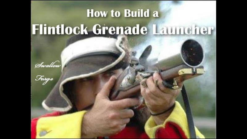 How to build a Flintlock Musket Grenade Launcher. (hand mortar)
