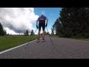 Тренировка сборной России по лыжным гонкам. Отепя 2017