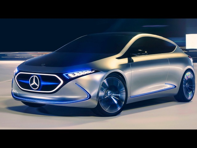 Mercedes Benz EQA Concept The A Class of the Future