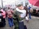 Девушка дождалась парня из армии 2017 год
