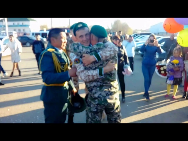 Встреча Любимого с армии 2017 год Казахстан, г.Кокшетау (Миша и Алёна)Сделал Предложение Девушке