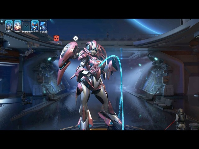 TRANSFORMERS Online 变形金刚 - Arcee , Optimus Prime vs Bluestreak PVE Mode Electric Whip Gameplay