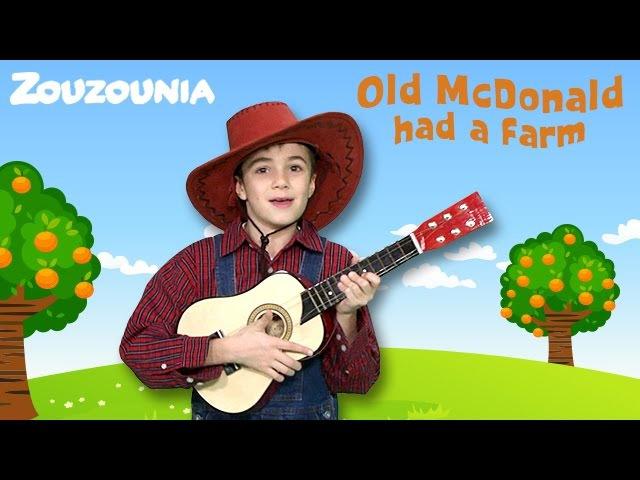 Old MacDonald Had a Farm | New Nursery Rhymes by Zouzounia TV