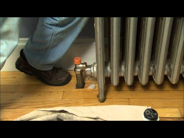 Как установить клапан-термостат на радиатор/How to Install Thermostatic Radiator Valves - This Old House