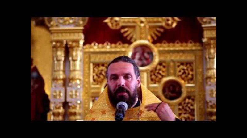 Проповедь протоиерея Евгения Попиченко