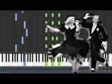 Booty Swing - Parov Stelar Piano Tutorial (Synthesia)