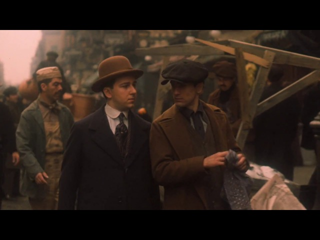 The Godfather II - Vito and Clemenza breaking into house HD