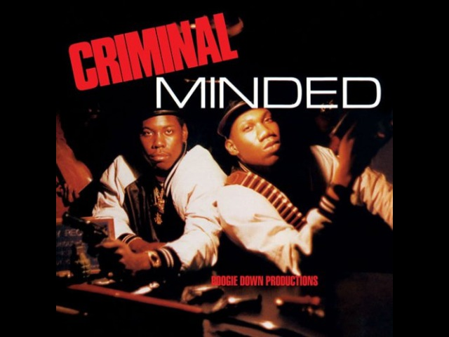 BOOGIE DOWN PRODUCTIONS- CRIMINAL MINDED (FULL ALBUM)