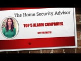 Best Home Security Companies-2015 NEW Release!