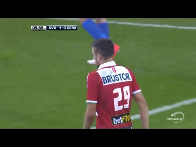 KV Kortrijk vs KRC Genk ● Belgium Jupiler League First Half 25 09 2016 720p