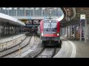 ÖBB Eurocity 87 im Railjetlook wird in München Hbf umgespannt