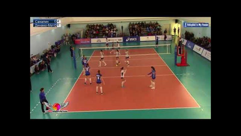 Sakhalin vs Dynamo-Metar |13-01-2018 | Russian Superleague Womens Volleyball 2017/2018