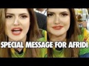 Zareen Khan Special Message for Afridi And Pakhtoons teem