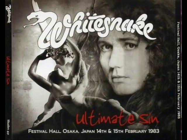 Whitesnake - Ultimate Sin Osaka 1983 Full Album