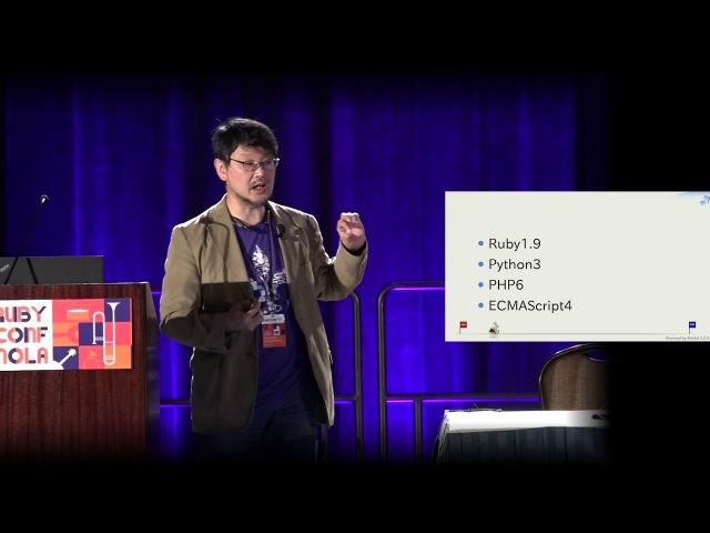 RubyConf 2017: Opening Keynote - Good Change, Bad Change by Yukihiro Matsumoto