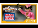Розовый Рейнджер Могучие рейнджеры Мегасила Mega Bloks / Construx Power Rangers Megaforce