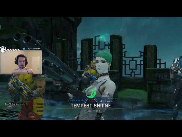 Rapha enjoying Slash in Deathmatch