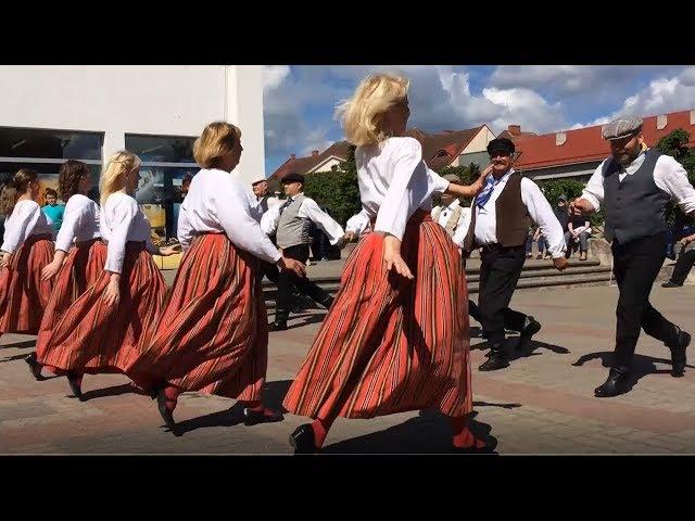 Эстонский танец Kui sa minu tädi näed (Если увидишь мою тётю)