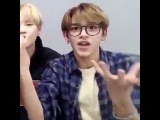 Lucas NCT about Ten's and Taeyong's 'Baby don't stop' xD