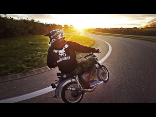 Small bike goes FAST - Simson 80ccm Tuning