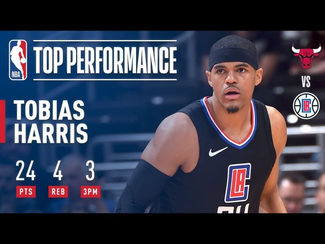 Tobias Harris Scores 24 Points in His Clippers Debut | February 3, 2018