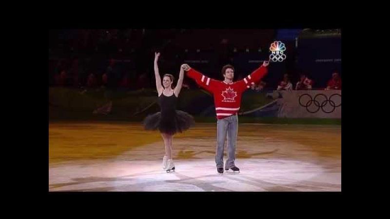 Tessa Virtue Scott Moir - 2010 Vancouver Olympics Gala - Everybody Dance Now [HD]