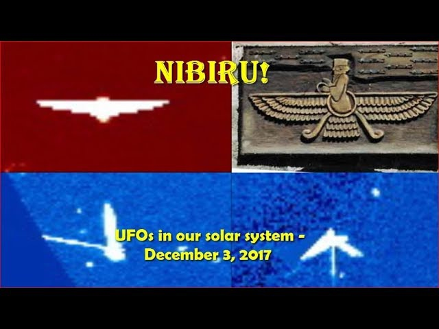 UFOs in our solar system - December 3, 2017 (Do we see Nibiru?)