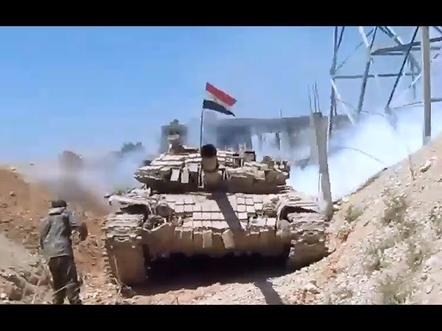 Archive - May 2017| Footage of SAA operation in al-Qaboun, Damascus