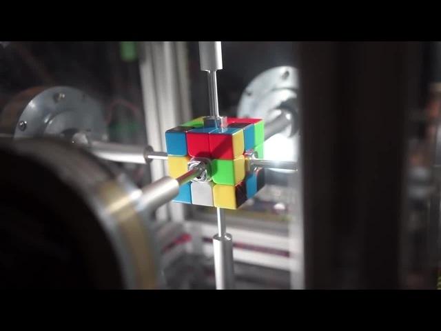 0 38 Second Rubik's Cube Solve