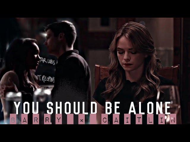 Barry × caitlin [iris] | snowbarry × flashfrost | should be alone