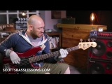 Free Bass Play-Along - LePoulet (The Chicken) Scotts Bass Lessons