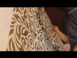 Секреты наклейки обоев возле натяжного потолка.Оформление примыкания обоев к потолку.
